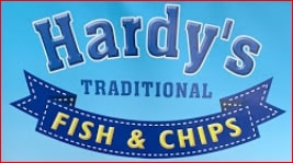 Hardy's traditional fish and chips